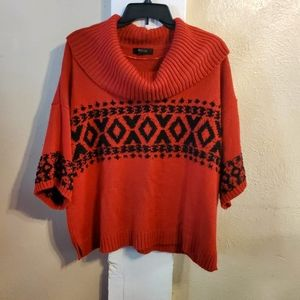 Style & Co Red Sweater